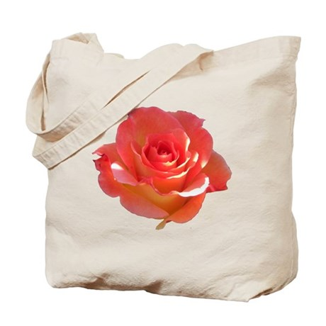 Rose Cup Tote Bag