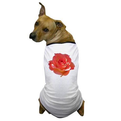 Rose Cup Dog T-Shirt