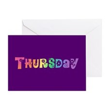 Cute Thursday Greeting Card