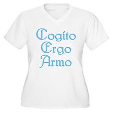 Cogito Ergo Armo (blue) T-Shirt