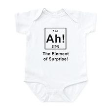 """""""Ah, The Element of Surprise"""" Infant Bodysuit"""