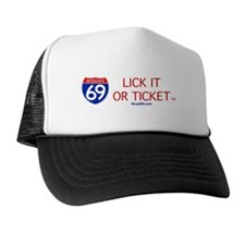 I-69 Lick it or Ticket Trucker Hat