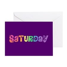 Cute Saturday Greeting Card