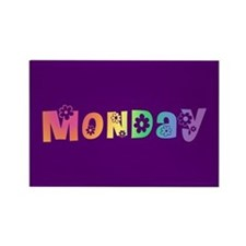 Cute Monday Rectangle Magnet