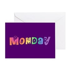 Cute Monday Greeting Card