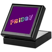 Cute Friday Keepsake Box