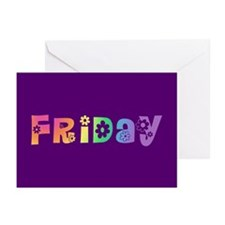 Cute Friday Greeting Cards (Pk of 10)
