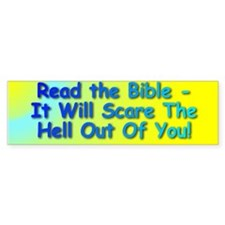 Read the Bible - Bumper Bumper Sticker