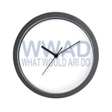 What Would Ari Do Wall Clock