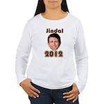 Bobby Jindal 2012 Women's Long Sleeve T-Shirt
