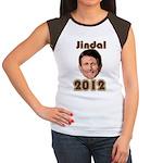Bobby Jindal 2012 Women's Cap Sleeve T-Shirt