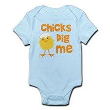 Chicks Dig Me Onesie