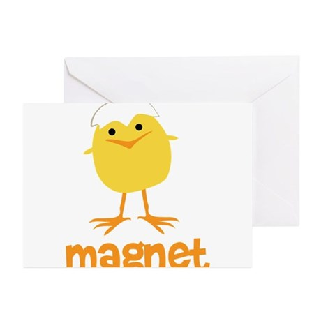 Chick Magnet Greeting Cards (Pk of 10)