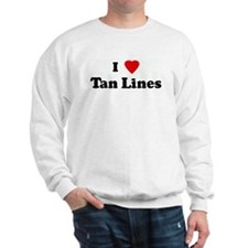I Love Tan Lines Sweatshirt