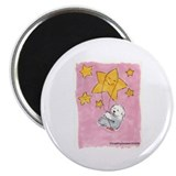 "Old English Sheepdog Star 2.25"" Magnet (10 pack)"