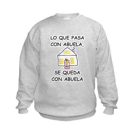 Con Abuela Kids Sweatshirt