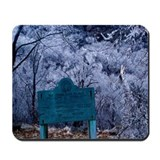 Unique Ice storm Mousepad