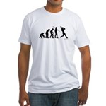 Baseball Evolution Fitted T-Shirt