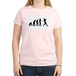 Baseball Evolution Women's Light T-Shirt