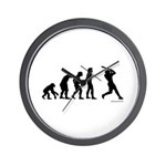 Baseball Evolution Wall Clock
