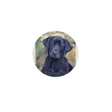 Sweet Black Labs Mini Button (10 pack)