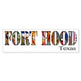 Fort Hood Bumper Sticker (50 pk)
