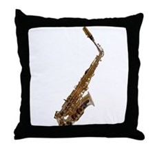 Alto sax Throw Pillow