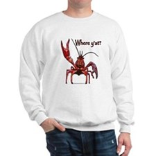 Crawfish - Where Y'at? Sweatshirt