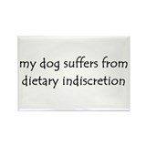 dietary indiscretion Rectangle Magnet (100 pack)