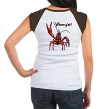 Crawfish - Where Y'at (design on back) Tee