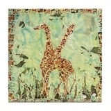Giraffe 1. Tile Coaster