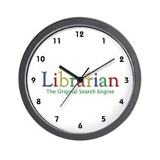 Librarian Wall Clock
