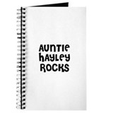 AUNTIE HAYLEY ROCKS Journal
