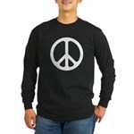 White CND logo Long Sleeve Dark T-Shirt