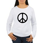 Black CND logo Women's Long Sleeve T-Shirt