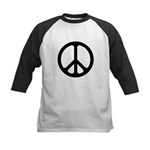 Black CND logo Kids Baseball Jersey