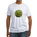 Baseball Melon Fitted T-Shirt