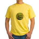 Baseball Melon Yellow T-Shirt