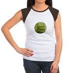 Baseball Melon Women's Cap Sleeve T-Shirt