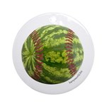 Baseball Melon Ornament (Round)