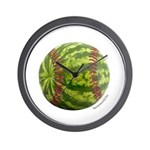 Baseball Melon Wall Clock
