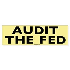 Audit the Fed Bumper Sticker (50 pk)