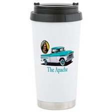 The Avenue Art Ceramic Travel Mug