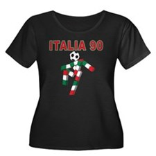 Retro 1990 Italia world cup T