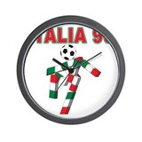 Retro 1990 Italia world cup Wall Clock
