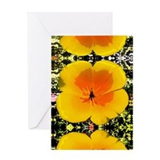 Painted Poppy Greeting Card
