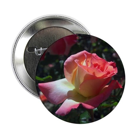 "Dancing Rose 2.25"" Button"