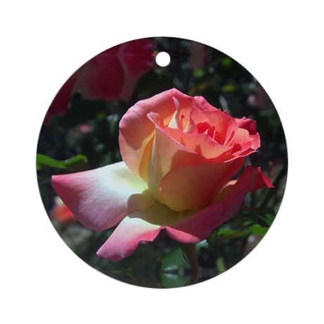 Dancing Rose Ornament (Round)