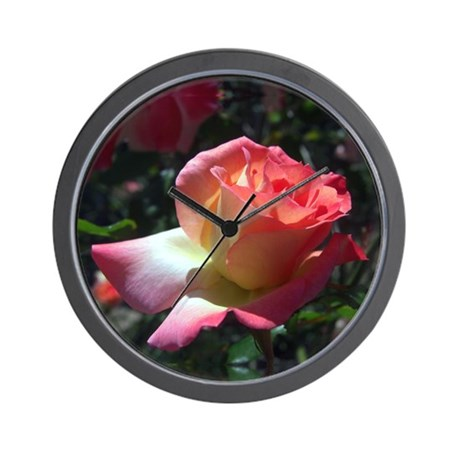 Dancing Rose Wall Clock