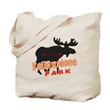 yellowstone Moose Tote Bag